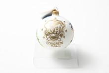 Congress Hall Crest Round Ornament