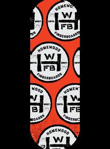 Homewood Badge Deck - Red