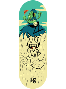 Homewood Monster Flag Deck - Green