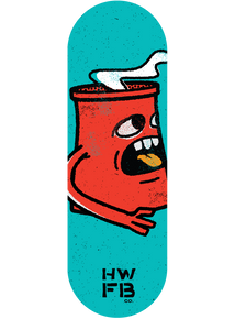 New Smokestack Graphic Deck - Red Monster