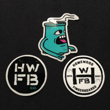 Homewood Sticker Pack
