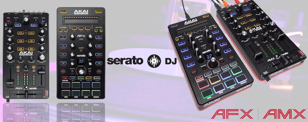 Akai AMX and AFX Serato DJ Controller