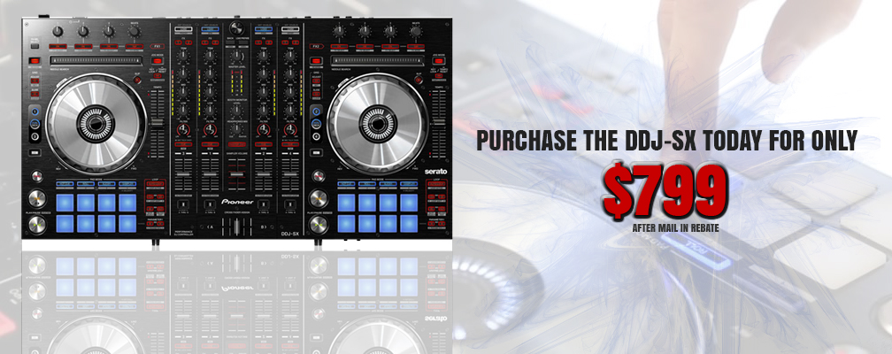 Pioneer DDJ SX $799 After Mail In Rebate