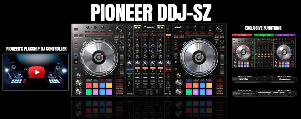 Pioneer DDJ SZ Ultimate Pioneer DJ Controller