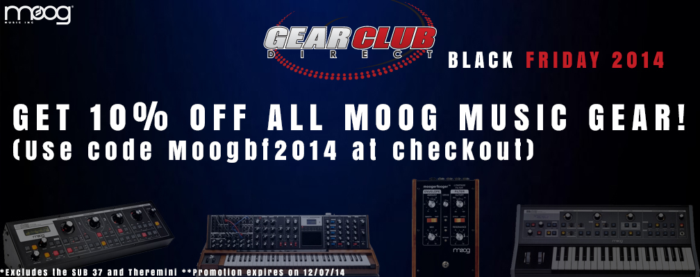 Moog Black Friday Sale