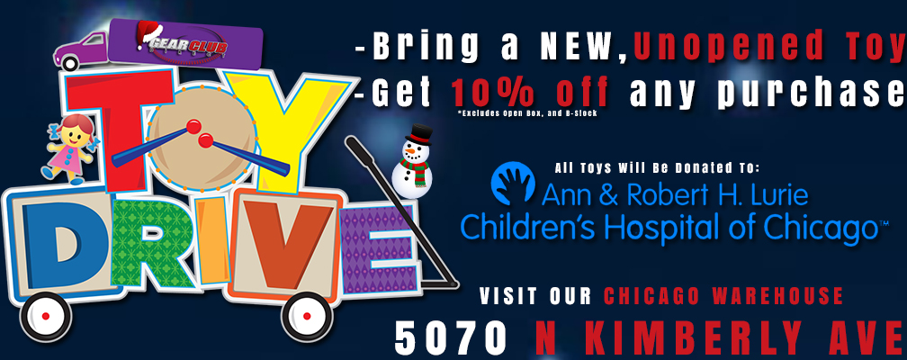 Donate a toy, get 10% off