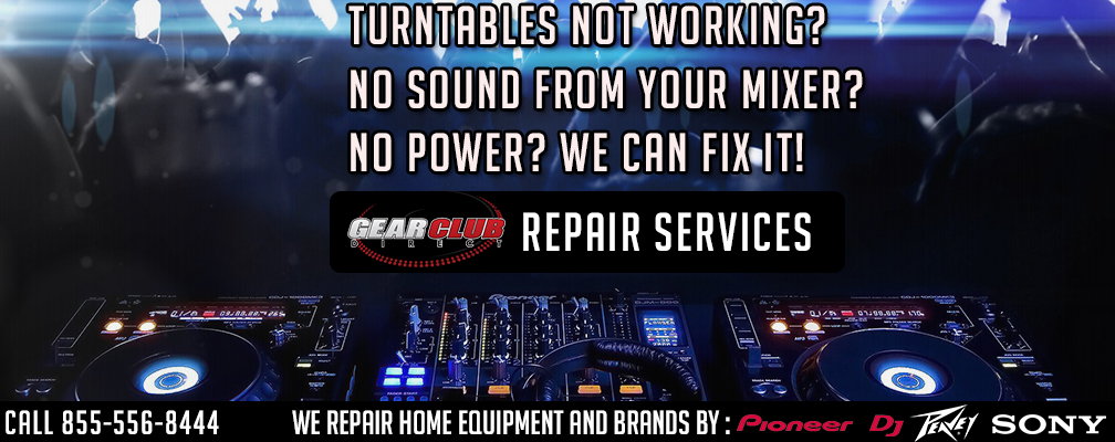 GearclubDirect Chicago DJ Audio and Lighting Equipment repairs