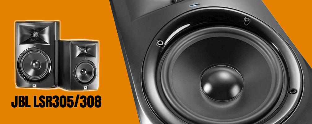 JBL LSR305 LSR308 Professional Studio Monitors