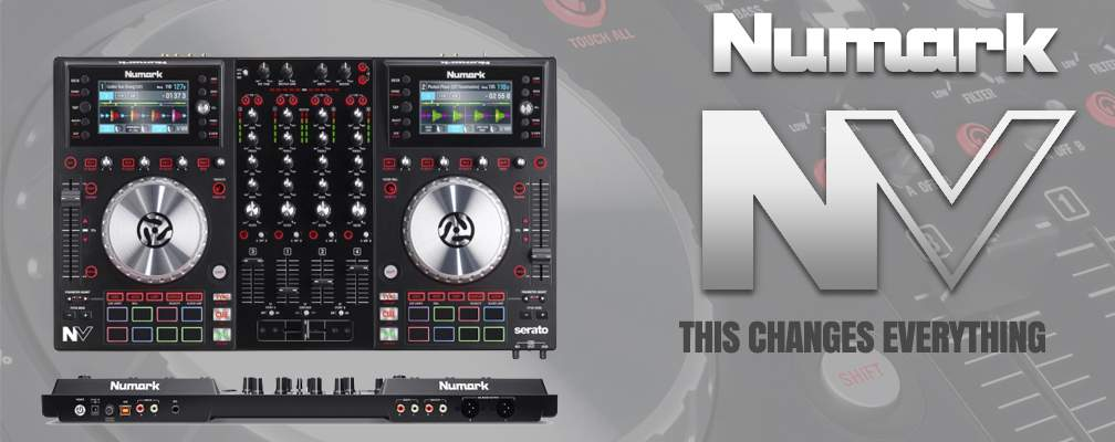 Numark NV DJ Controller that will change everything