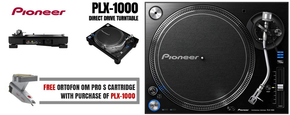 Pioneer PLX-1000 Direct Drive Turntable
