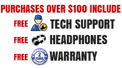Free Shipping, tech support and 2 year warranty available at gearclubdirect