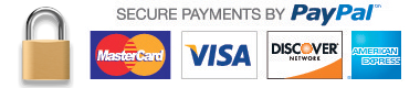 GearclubDirect Accepts Major Credit and Debit Cards as well as Paypal for payment