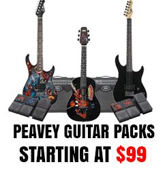 Peavey Guitar and Acoustic Guitar Packages