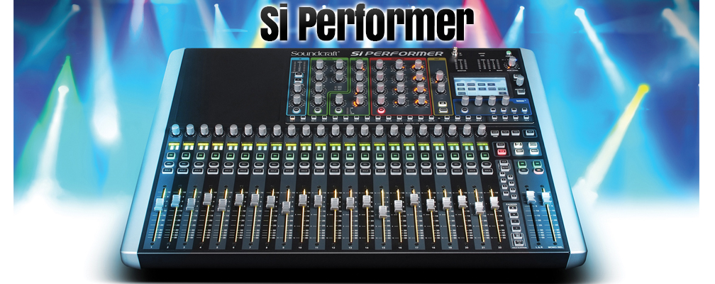 Soundcraft Si Performer Mixing Console