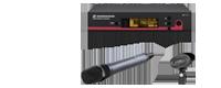 Sennheiser ew135 handheld cardioid microphone