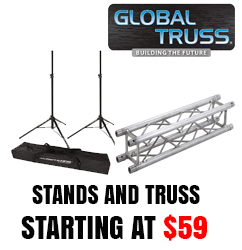 Global Truss and Speaker stands