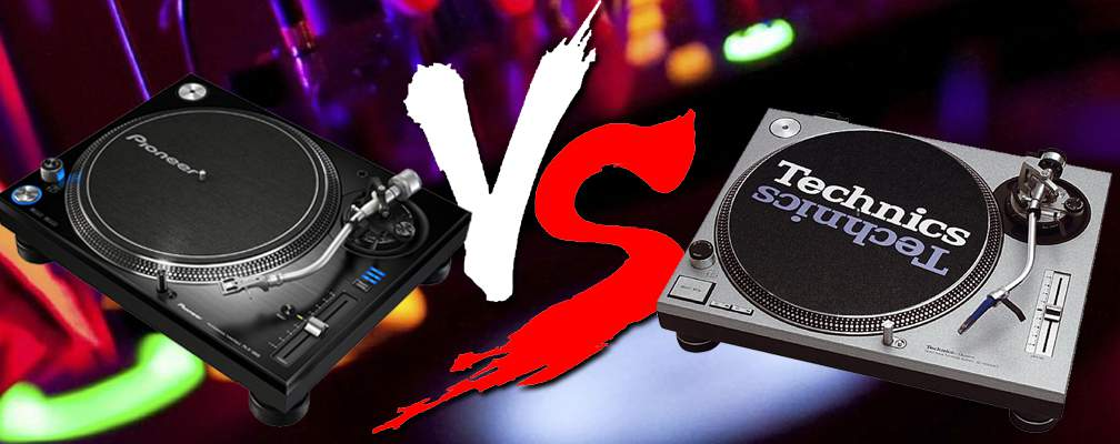 Pioneer PLX-1000 vs Technics 1200