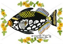 Clownfish Triggerfish