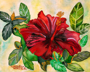 Holiday Hibiscus