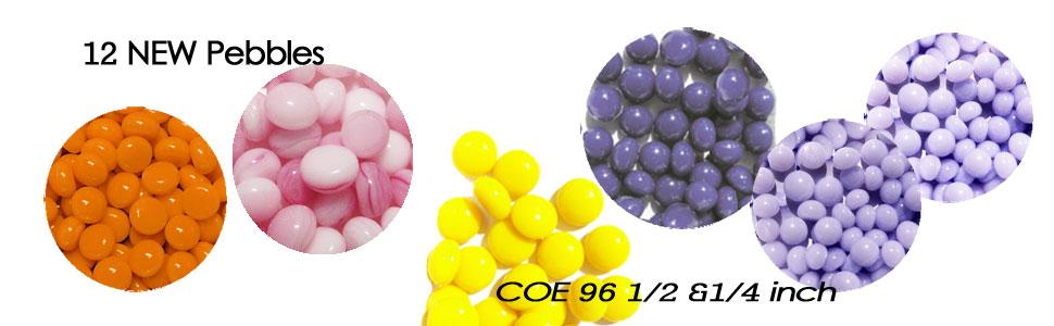 !2 new 1/2 or 1/4 inch mini pebbles