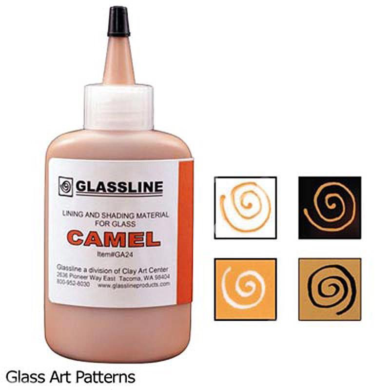 Camel (2oz) Glassline Fusing Paint Pen 44507