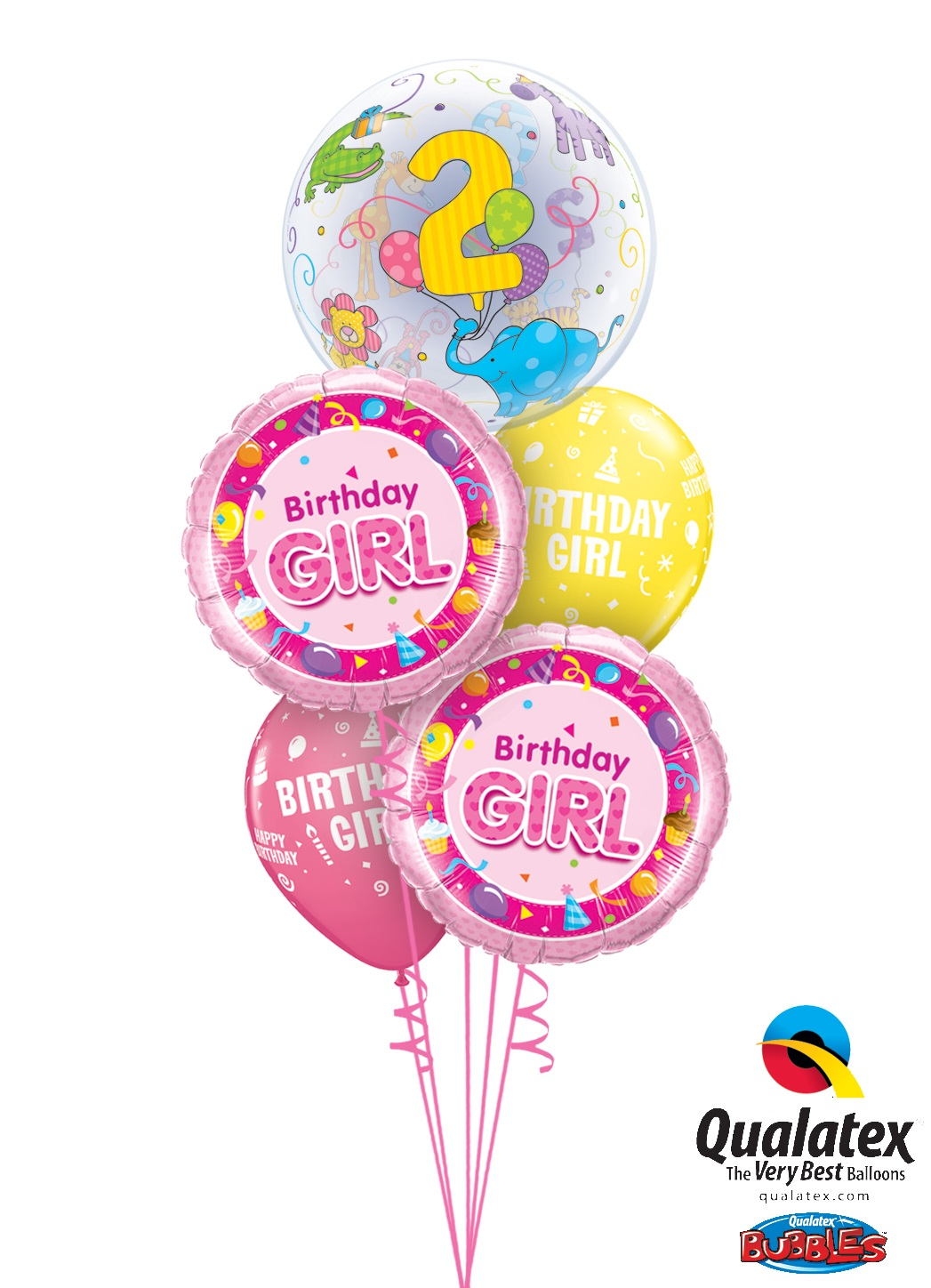 2nd Birthday Balloon Bouquet Delivery In Portland Or 503 285 0000