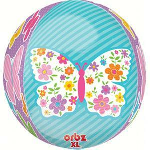Free Welcome Spring Butterfly Orbz Balloon for Portland Delivery