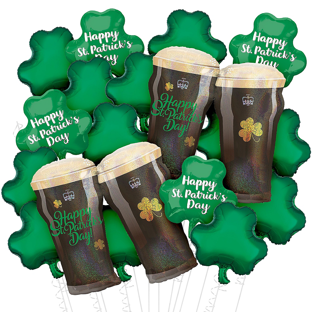 St Patricks Day Balloon Bouquets Delivered