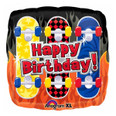 Happy Birthday Skateboard Balloon