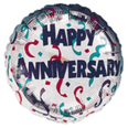 "18"" Happy Anniversary Confetti Celebration"