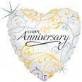 """18"""" Filigree Anniversary"""