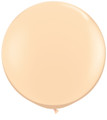 "36"" Qualatex Round Fashion Blush Latex Balloon"