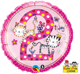 "18"" 2nd Birthday Kittens Dots by Rachel Ellen Designs"