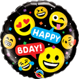 "18"" Birthday Smileys Happy Birthday"
