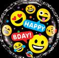 """18"""" Birthday Smileys Happy Birthday"""