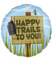 Happy Trails to You! Sign Post