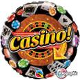 "18"" Casino Holographic Helium Balloon"