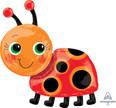 """28"""" Miss Ladybug SuperShape Foil Balloon"""