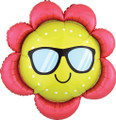 "27"" Fun In The  Sun Flower Balloon"