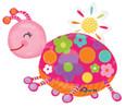 """29"""" Colorful Ladybug Balloon"""