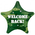 18 Inch Welcome Back Camouflage Foil Balloon