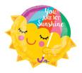 """21"""" You are My Sunshine Balloon Jr Shape Balloon"""