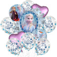 Frozen 2 Balloon Bouquet with Latex