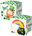 "15"" Happy St. Pat's Pot of Gold Cubez"