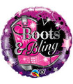 """18"""" Boots And Bling"""