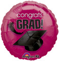 "18"" Graduation School Colors Berry"
