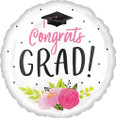 28 Inch Jumbo Graduation Girl Balloon