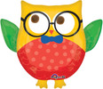 Hip Hip Hooray Graduation Owl Super Shape