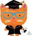 """29"""" Grad Cat Foil Balloon"""