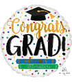 "28"" Jumbo Congrats Grad Books Foil Balloon"
